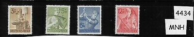 MNH stamp set / Germany / Reich Labor Corps / Complete 1943 Third Reich set