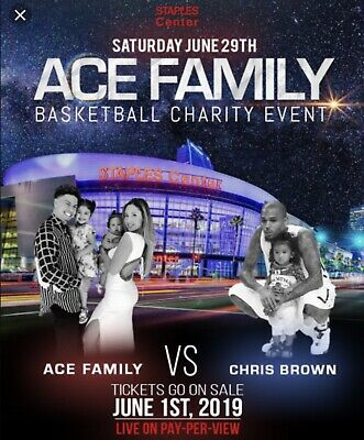 Ace Family Charity Basketball Event **SECTION 119** GREAT PRICE!!!!