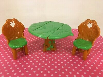 Vintage 1980s Strawberry Shortcake - Berry Happy Home Furniture - Table & Chairs