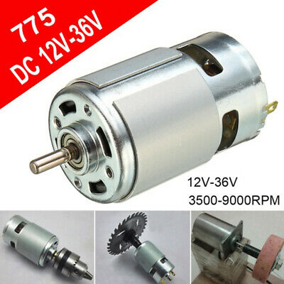 775 12V-36V DC 3500-9000RPM Motor Ball Bearing Large Torque High Power Low WXY
