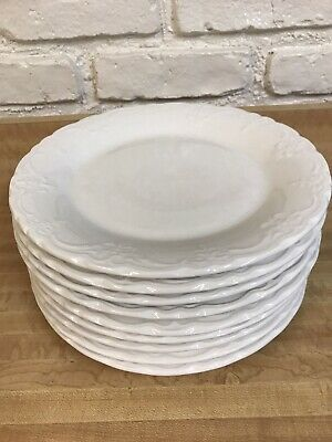 Tabletops Gallery Versailles Handmade Off White Dinnerware ( set of 4)