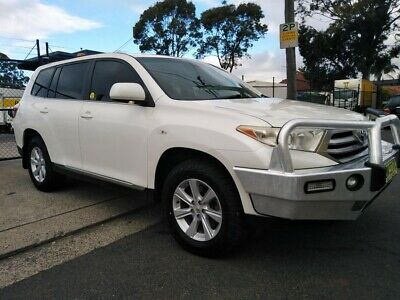 2011 Toyota Kluger AWD Automatic - Bullbar - Towbar - Great Condition