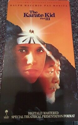 The Karate Kid, Part Iii, Vhs Special Widescreen Closed Captioned Macchio, 1989