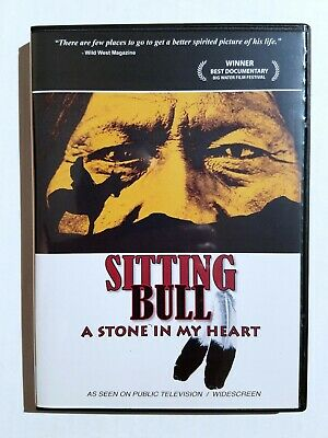 """Sitting Bull """"A Stone In My Heart"""" DVD Documentary Sioux Native American"""
