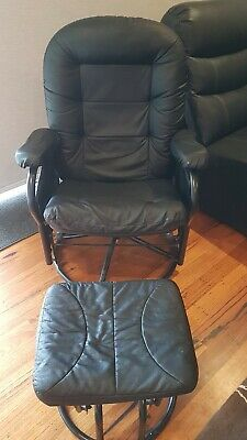 Nursing Rocking feeding baby Chair recliner with foot stool