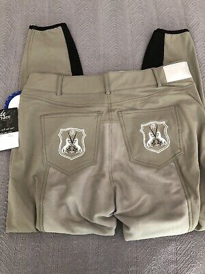 Brand New W Tags Nwt Goode Rider Full Seat Breeches 36L Long $189