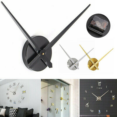 Large Silent Wall Clock Movement for Quartz DIY Hands  Mechanism Repair Tool