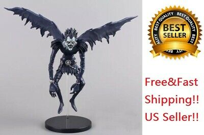 "Death Note Anime Ryuk Shinigami Figure Toy 6"" PVC With Stand No Box US Seller"