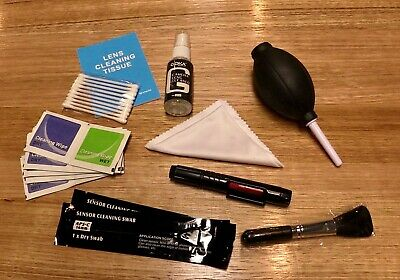 TOP PRODUCT Camera Lens Cleaning Kit + Cleaning Cloth +APS-C Swab for DSLR Lense