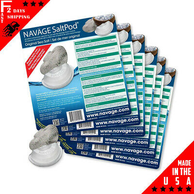 NAVAGE SALTPOD SIX-PACK: 6 SaltPod 30-Packs (180 SaltPods)