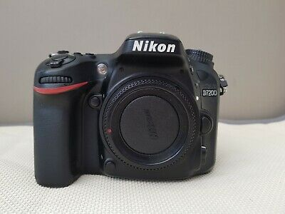 Nikon D7200 24.2MP Digital SLR Camera - Black (Body only)