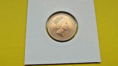 1986 Proof 1p One Pence Coin  - From Royal Mint Year Set FREE P&P (MM05)