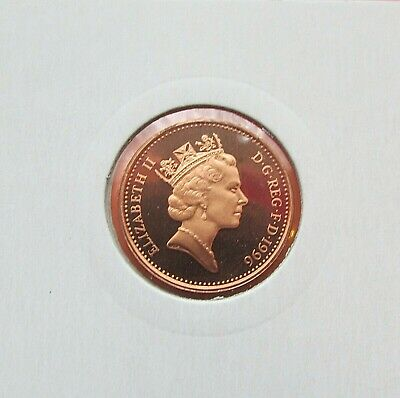 1996 Proof 1p One Pence Coin  - From Royal Mint Year Set FREE P&P (MM15)