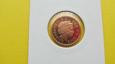 2003 Proof 1p One Pence Coin  - From Royal Mint Year Set FREE P&P (MM22)