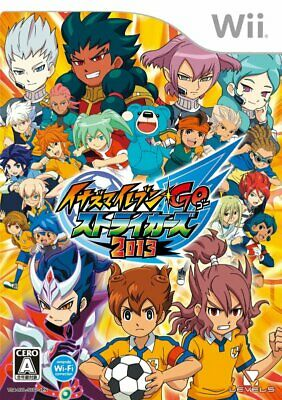 Nintendo Wii Inazuma Eleven Go Strikers 2013 Video Game Sealed NTSC J F/S