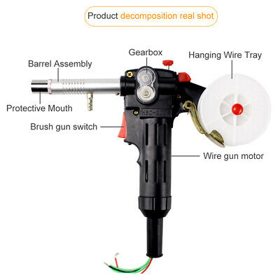 Spool Home Accessories 200A Line-Drawing Welding Torch Welders Push Pull Feeder