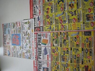 10 pages of Harbor Freight Discount Coupons 20% off  coupon plus more