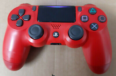 official Sony PS4 DualShock 4 V2 Wireless Controller red./