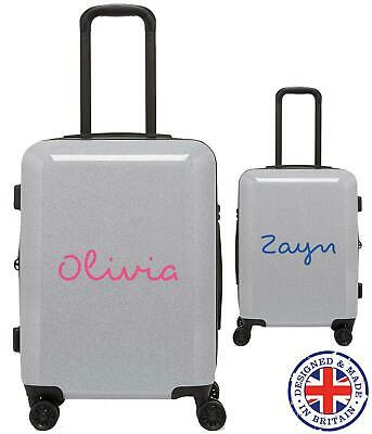 Personalised Custom Love Island Text Name Travel Suitcase Sticker Decal Transfer