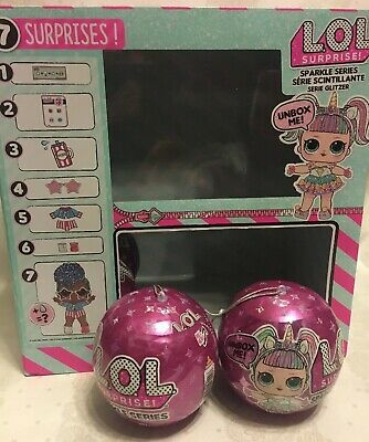 ✨2 LOL Surprise Sparkle Series 6 Balls Big Sister Brother Doll 1 3 4 5 New Lot✨