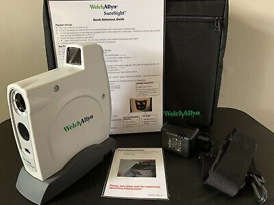 Welch Allyn SureSight 14001 Series Eye Vision Screener With Case .