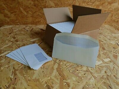 DL+ Mailing Machine Envelopes 90gsm Gummed Window White [Pack 500]