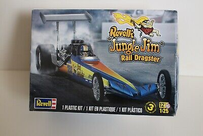 REVELL 1/25 JUNGLE Jim Rail Dragster 1/25 Scale Mint Sealed