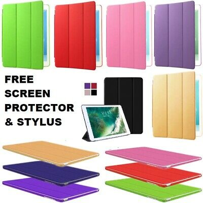 9.7 Magnetic Leather Smart Cover Hard Case for Apple iPad 2 3 4 5 6th Generation