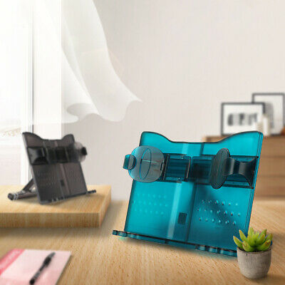 ABS Office Portable Adjustable Angle Reading Holder Stretchable Arm Book Stand