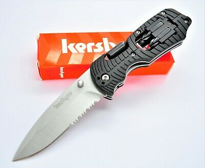 Kershaw 1920 Select Fire Partially Serrated Pocket Folding Knife Multi Tool New