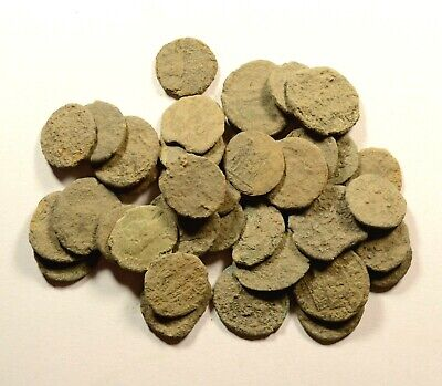For Cleaning - Lot Of 40 Roman Bronze Coins - 16