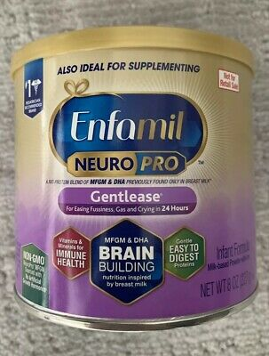 Enfamil NeuroPro Gentlease Infant Baby Formula Powder 8 Oz expires 12/01/2020