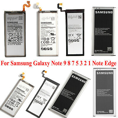 OEM Original Battery Replacement For Samsung Galaxy Note 2 3 4 5 8 9 New Genuine