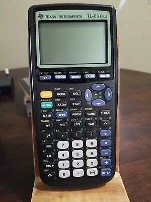TI-83 PLUS GRAPHIC Calculator Texas Instruments Graphing TI83 +