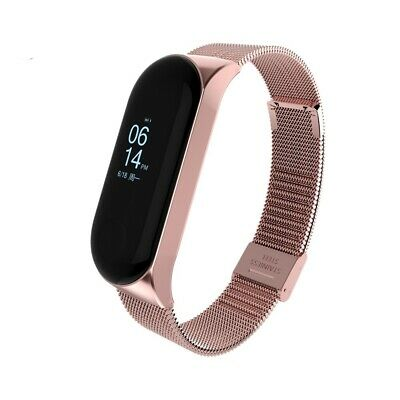 Replacement Wrist Band Steel Strap Metal Bracelet Wristband For Xiaomi Mi Band 3