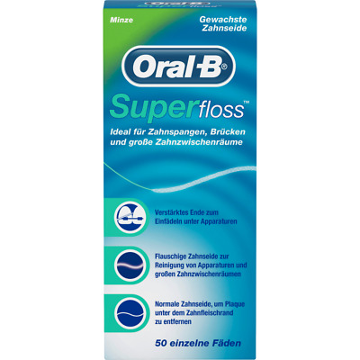 Oral-B Superfloss, mint: 50 Fäden