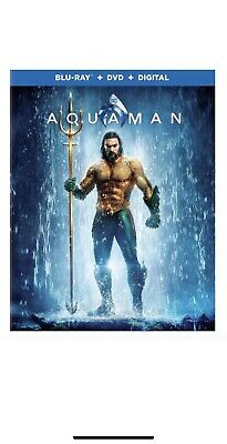 Aquaman (Blu Ray, DVD, Only —NO Digital, With Slipcover*) Like New