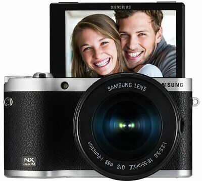 Samsung NX300M 20.3MP CMOS Smart WiFi Digital Camera Black (EV-NX300MBSTUS) (pp)