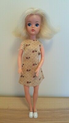 Vintage Pedigree 1970s Sindy Doll - Good Played with Condition