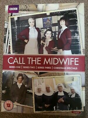Call The Midwife DVD Boxset, Complete Series 1-3 plus Christmas Specials