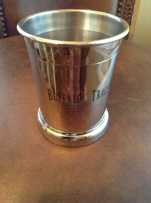 New Buffalo Trace Kentucky Straight Bourbon Whiskey Mint Julep Tasting Glass