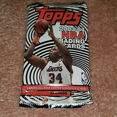 2003-04 Topps Basketball Card Pack Pos-Gold Lebron James Rookie+James Rookie