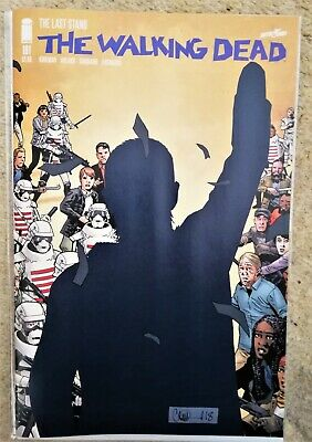Walking Dead 191 Sold Out First 1St Print Key Issue Unread Nm