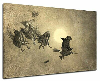William Holbrook Beard - The Witche's Ride, 1870 Poster Canvas Print 11