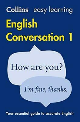 Easy Learning English Conversation: Book 1 (Collins Easy Learning English) by...