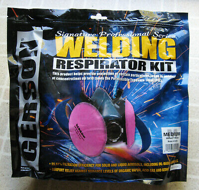 Gerson Signature Professional Series Welding Respirator Kit Medium 9259