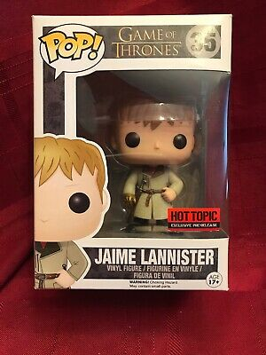Funko POP! Game of Thrones Jamie Lannister #35 Hot Topic Exclusive Pre-Re NIB
