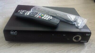 Virgin V+ HD Samsung SMT-H3110 cable receiver plus 2 remotes