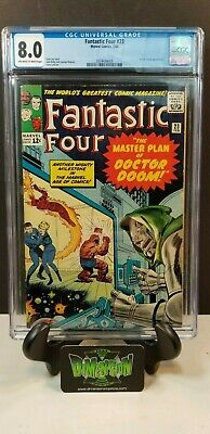 Fantastic Four #23 Cgc 8.0 Doctor Doom Appearance 1964 Vf Stan Lee Jack Kirby