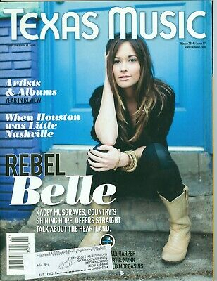 Kacey Musgraves cover Texas Music magazine Winter 2014 with CD